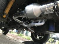 SVX exhaust