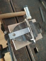 Westfalia bench latch fabrication