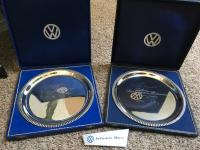 '61 and '63  Silver presentation plates