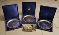 Silver award plates
