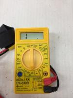 Multimeter setting for fuel sender