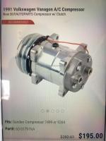 sanden 7499 or 9264 ac compressor