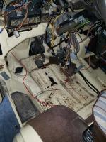 Vanagon rust under driver side floorboard