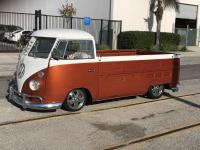 Bus Sighting Single Cab Torrance South Bay Slammed Narrowed Fuchs Narrowed Copper White Chrome Slash Safaris