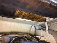 Spray on sound deadening removal