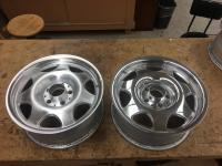 Clk wheels polished