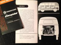 Rare Ebershächer instruction manual and installation guide for Barndoor