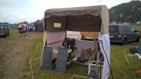 My EBI stand and 3 days rain :)