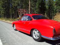 '68 Ghia road trip