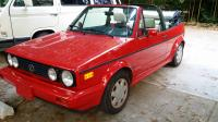 1990 VW cabriolet 1