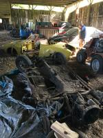 1971 Ghia convertible restoration