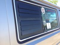 Vanistan louvered window screen inserts