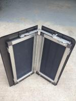 Vanistan louvered window screen inserts