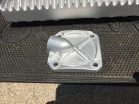 Parts back from vapor blaster