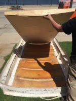 VW pop top wood replacement