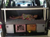 Eurovan rear cot