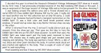 Hessisch Oldendorf Germany - HO 2017 Show Souvenir