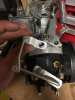 Judson throttle linkage