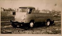 1959 Gandy Wagon / Railroad Bus Promotional Photograph