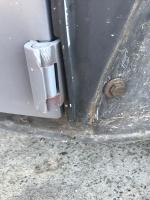 Fixing door gaps