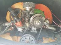 1970 Engine and oil breather