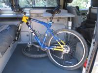 Interior Vanagon Bike Rack