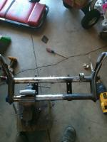 Front beam fit up