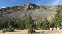 Camping in Gallatin National Forest