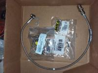 Rear disc brake hose upgrade