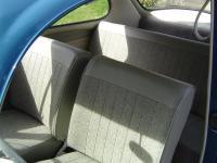 1965 VW Bug Mesh Grey Seats - Aftermarket