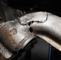 1981 Trailing  arm rust-repair