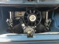66 Slider with 1700 engine with Porsche engine fan