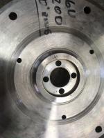 6v 200mm Flywheel with o-ring