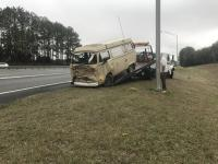 78 westy totalled