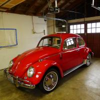 1965 Bug Polish - Before and After