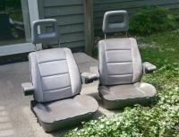 1989 Grey vanagon front seats