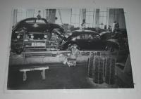 Photo from 1949 and information on import to USA and production.