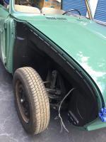 1965 velvet green sunroof squareback