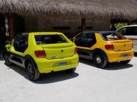 VWs in Cozumel Mexico