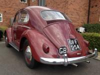 RHD Garnet Red 1959 UK car