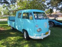 Split Double Cabs  at the  Nor Cal Vintage VW & Porsche Treffen 2017