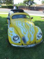 Lowered-Top Bug at the  Nor Cal Vintage VW & Porsche Treffen 2017
