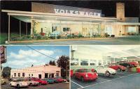 Postcard from Holbert's VW in Warrington, PA