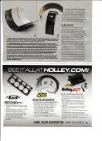 hot rod bearing and oil article
