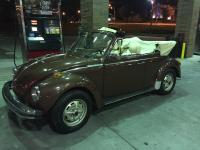 My 78 Super Beetle Convertible Champaign II
