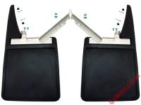 German Mud Flap with fasteners, pins and rubber grommets 2