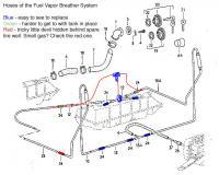 Fuel Tank Vapor Breather Tee