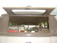Barndoor Sunroof Standard with rear hatch