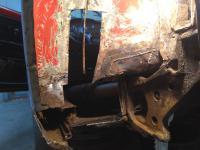 Ghia left rear body