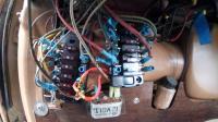 Temp install of Blue Sea fuse boxes
